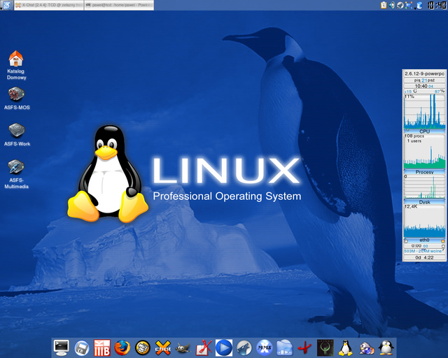 This's my Linux Look