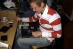 David Holm tries to upgrade his laptop memory